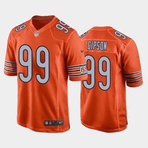 Chicago Bears Trevis Gipson Orange Jersey